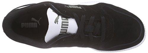 Puma Icra Trainer SD Jr, Sneakers basses mixte enfant Noir - Noir (noir/blanc 07)