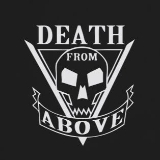 Death From Above - Stofftasche / Beutel Grün