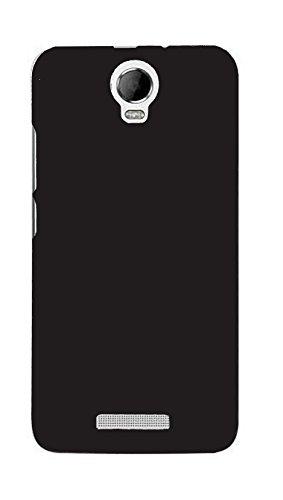 SDO Luxury Matte Finish Rubberised Slim Hard Case Back Cover for Micromax Canvas Juice 2 AQ5001 - Black