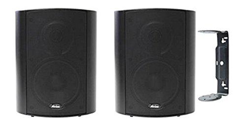Außen-Lautsprecherboxen 2-Wege Lautsprecher PA Boxen 13cm Bass PAAR ALB-50s