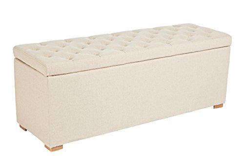 Panca Contenitore Legno : Bizzotto arlette panca contenitore 3046 legno bianco 120x40x45 cm