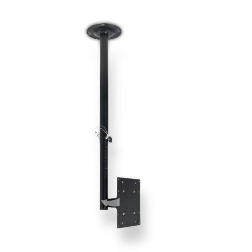 eSmart Germany TV Deckenhalterung LCD / PLASMA TV 36 cm - 81 cm (14 - 32 Zoll) VESA 50 x 50 bis 200 x 200 neigbar schwenkbar SchwarzDeckenabstand: 645 mm - 1040 mm Montagelöcher am TV max. 200 mm x 200 mm (Breite x Höhe)