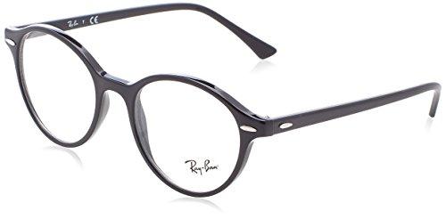 Ray-Ban Unisex-Erwachsene Brillengestell 0rx 7118 2000 50, Schwarz (Black)