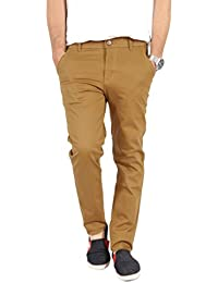 100% Cotton Lycra Slim Fit stretchable Mens AKINS by Uber Urban