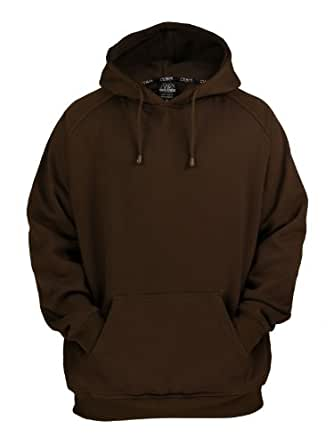 URBAN CLASSICS Blank Hoody TB014 brown XL