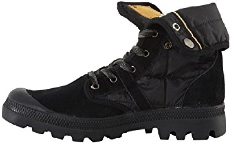 Blend Herren Boots 703334 Schnürschuhe Schwarz