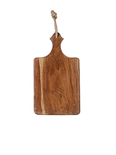 Seashell Brown Wooden Cutting Board Length: 40.64 cm Width: 20.32 cm, For Kitchen Tools, Perfect Housewarming Gift Chopping Bowl Board