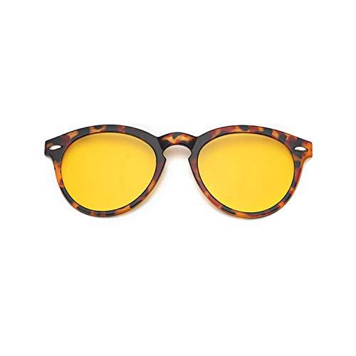 Sport-Sonnenbrillen, Vintage Sonnenbrillen, Polarized Clip On Sunglasses For Eye Glasses Frames Eyeglasses With Clip On Sunglasses Magnetic Glasses Männer WoMänner 956 Clip On Yellow