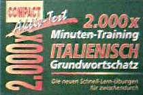 2000 Minuten-Training Italienisch Grundwortschatz. Compact Aktiv-Test