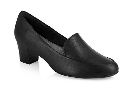 Piccadilly  PICCADILLY 110102, Sandales Compensées femme Noir - noir