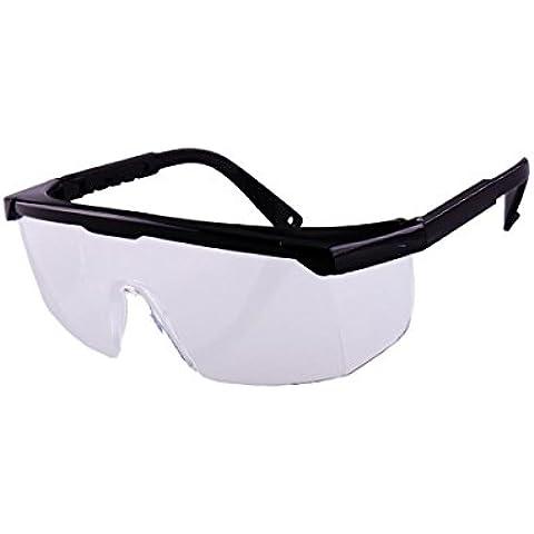 mccsafety Occhiali Protezione degli occhi Occhiali di sicurezza Occhiali Sabbia Polvere foot-shock-proof retrattile, 2