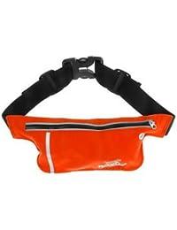 ELECTROPRIME Unisex Ultrathin Outdoor Running Waist Bag Sports Pockets Bag -Orange