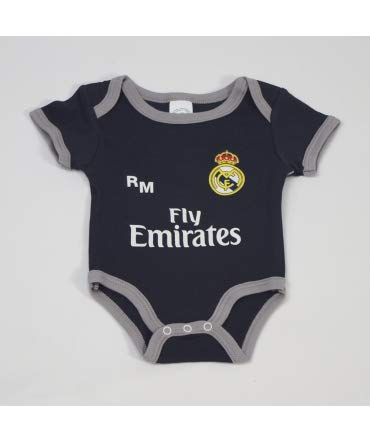 c323be2d6 10XDIEZ Body Bebe Real Madrid 811 Marino-Gris - Tallas bebé - 6 Meses