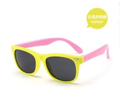 (Isuper Neon Sonnenbrille für Kinder und Erwachsene–Party Favors für Kid, Goody Bag Fillers, Stuffers Stocking, Yellow-Purple)