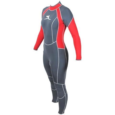 Traje de surf para mujer super stretch talla S/36 neopreno 3 mm