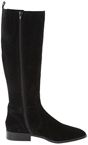 Nine West Bringit Daim Botte Black