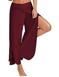 FITTOO Pantaloni Yoga da Donna Larghi Harem Pants per Sport Gym Fitness 9f8273ed5c3b