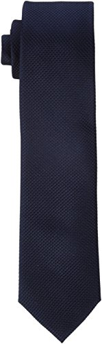 JACK & JONES PREMIUM Herren Krawatte Jaccolombia Tie Noos, Blau (Dark Navy Detail:Solid), One size