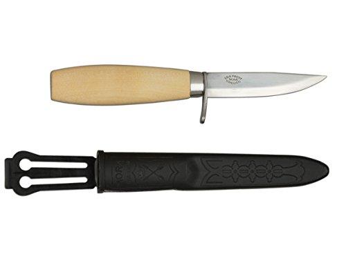 Morakniv Werkzeug Kerbschnitzmesser geölter Birkenholzgriff Fingerschutz Gesamtlänge: 17.0 cm, 138707