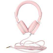 Fresh 'n Rebel Caps Headphones - Auriculares supraaules con cable – con micrófono, control remoto integrado