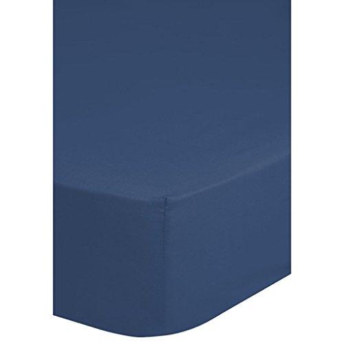 Emotion Spanbettuch Jersey, 220 x 180 x 0,5 cm, blau
