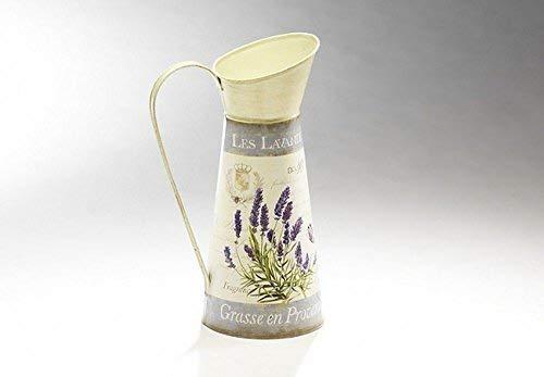 Nostalgie Krug Mit Lavendeldekor, Wasser Kanne, Landhaus Krug mi Lavendel