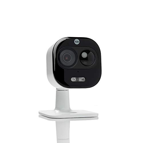 Yale SV-DAFX-W - All-in-One Outdoor Camera 1080p - Detect, View, Light up, Talk and Listen - Live Viewing