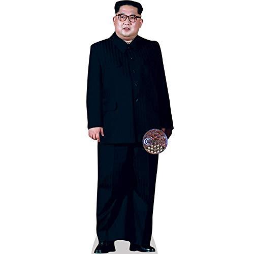 Celebrity Cutouts Kim Jong-Un (Black Suit) Pappaufsteller lebensgross