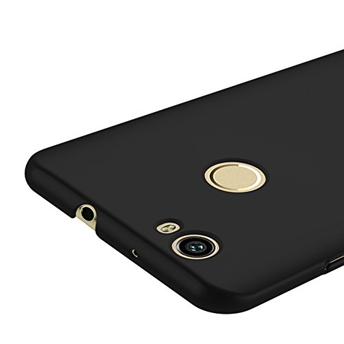 Schwarz Sehr Dünn Hülle Schutzhülle Case + Displayschutzfolie für Huawei nova Vooway® MS70226