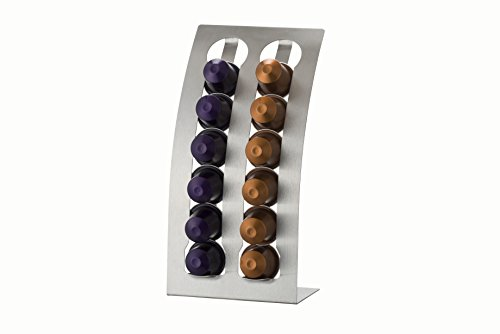 Kitchen Craft Le ' Xpress de café Nespresso dispensador de Acero Inoxidable