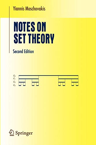 Notes on Set Theory (Undergraduate Texts in Mathematics)