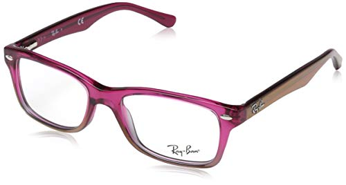 Ray-Ban Unisex-Kinder 0ry 1531 3648 48 Brillengestell, Pink (Fucsia Gradient Iridescent Grey),