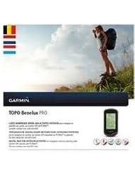 Garmin Topo Benelux Pro Topográfico Vektor tarjeta, Negro, Uni