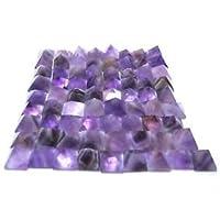 Beautiful 50Amethyst lose Edelstein Pyramiden Crystal Healing Reiki Bagua Geschenk Wellness psychische Energie... preisvergleich bei billige-tabletten.eu