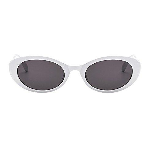 SHE.White Ovaler Rahmen Katzenauge Sonnenbrille Brille Autofahren Tag und Nachtsichtbrille Sonnenbrille Brillen Schutz für Angeln Golf Outdoor Sport