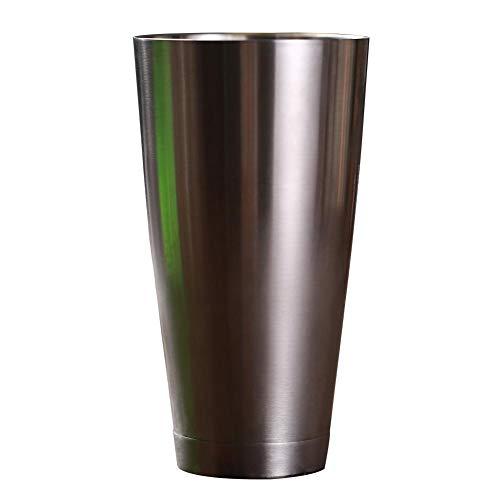 Barkeeper Cocktail Shaker Glas 700Ml verdickte untere mischende Glas-Glaswaren für Bols Drinkware-Wein-Schalen-Edelstahl-Reise-Becher Drinkware Wein