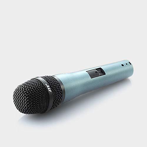 JTS TK-350 Microfono Professionale Dinamico Cardioide x live, concerti, karaoke, Nero/Grigio
