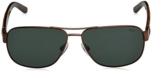 Polo Ralph Lauren Herren Sonnenbrille Braun (Semishiny Dark Brown 927271)