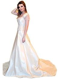 ca0d0edc2c7b Abito da sposa sartoriale alta moda made in Italy (Mod. 36 - Outlet)Abiti  da sposa alta moda vestito sposa sartoriale…