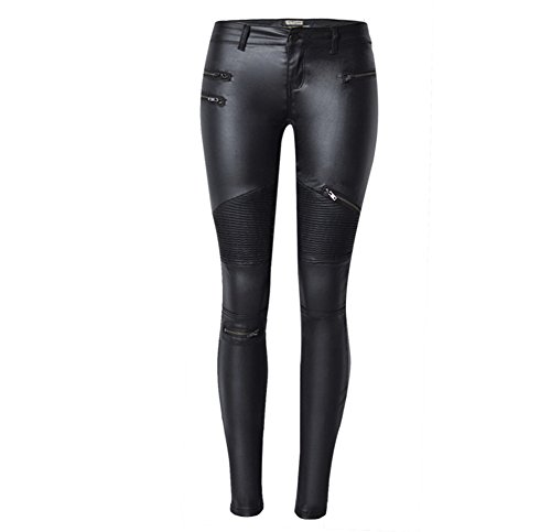 radhose für Frauen Sexy Engen Stretchy Reiter Leggings Hosen Hohe Taille Strumpfhosen,Black,40 ()