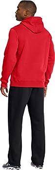 Under Armour Men's Cc Storm Rival Sweatshirt - Risky Redblackblack, Small 4