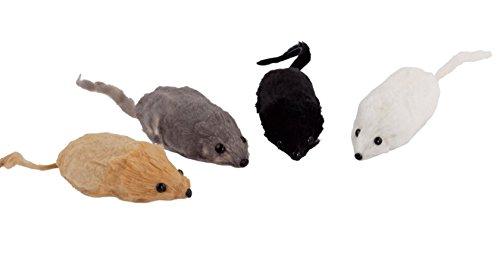 Redecker Spielzeugmaus Maus aus Kaninchenfell gefüllt mit Pressspan ca. 5 cm
