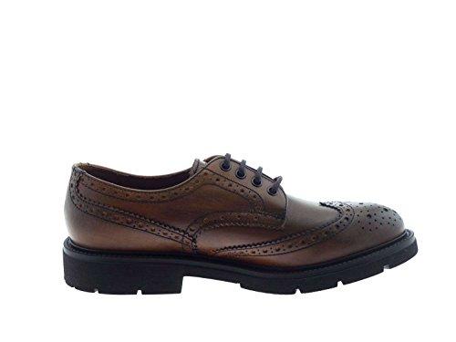 FRAU , Chaussures de ville à lacets pour homme marron cuir 40 EU cuir