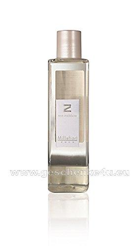 Millefiori Milano Raumduft Zona Stick Diffusor Nachfüllung Rose madelaine 250 ml, Diffuser Stäbchen Rosen Flieder -