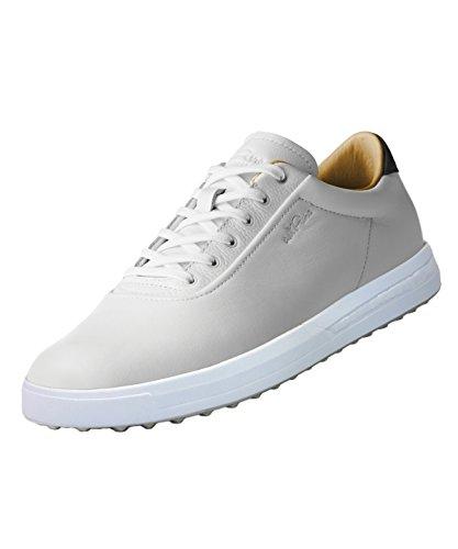 adidas Golf Herren Adipure SP Boost-Golfschuhe - Tour Weiß/Grau - UK 10 (Spikeless Klassische Schuh Golf)