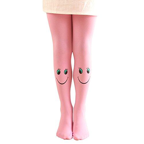 hen Strumpfhosen bärtige Mädchen Mode gestrickte Strumpf Baby Strumpfhosen Weihnachten Lang Stulpen Winter ()