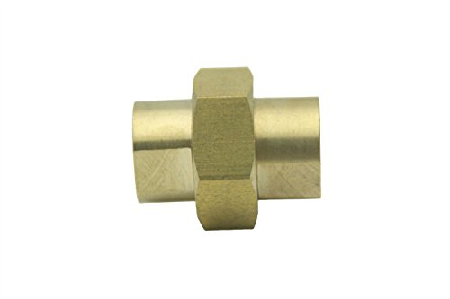 Npt Union Connector (LTWFITTING 3 piece Union Coupling Brass Pipe Fitting 3/4