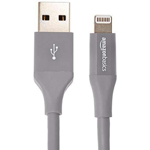 e5fd32f4e6c AmazonBasics - Cable de conector Lightning a USB A para iPhone y iPad - 1,