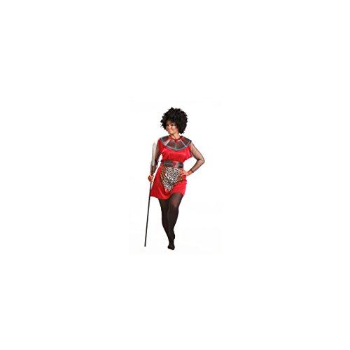Imagen de disfraz de guerrera masái para mujer