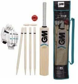 "Gunn & Moore ""six 6"" Cricket Set - Size 4"